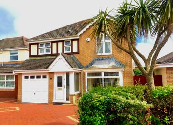 Thumbnail 4 bedroom detached house for sale in Cae Ganol, Nottage, Porthcawl