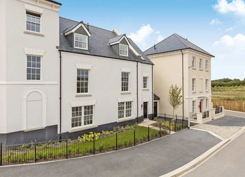 "Thumbnail 2 bed end terrace house for sale in ""The Copplestone"" at Haye Road, Sherford, Plymouth"