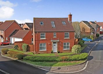 Thumbnail 5 bed detached house for sale in Wynwards Road, Abbey Meads, Swindon