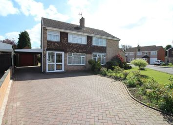 Thumbnail 3 bed semi-detached house for sale in Gallagher Road, Bedworth