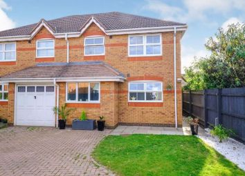 Thumbnail 3 bed semi-detached house for sale in Campaign Close, Wootton, Northampton
