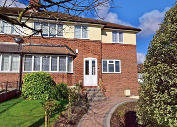 Thumbnail 4 bed semi-detached house for sale in The Greens Close, Loughton, Essex