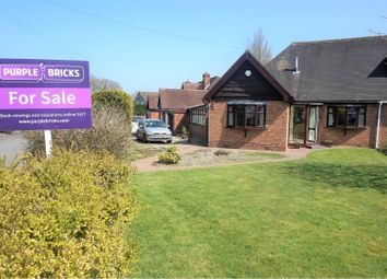 Thumbnail 3 bed bungalow for sale in Meadow Road, Birmingham
