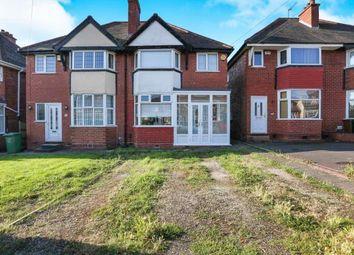 Thumbnail 3 bedroom semi-detached house for sale in Hardwick Road, Solihull, Birmingham, West Midlands