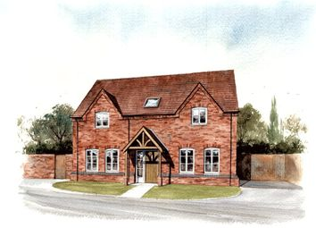 Thumbnail 4 bed detached house for sale in Chapel Gardens, Hawkesmill Lane, Brownshill Green, Coventry