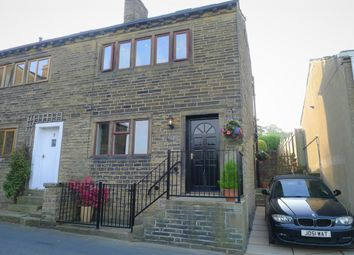 Thumbnail 3 bed semi-detached house for sale in Stocks View Cottage, Duke Street, Luddenden, Halifax
