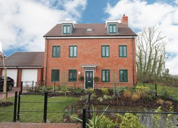 Thumbnail 5 bed detached house for sale in Canalside View, Broughton, Aylesbury