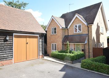 Thumbnail 4 bed detached house for sale in Yew Tree Close, Walkern, Stevenage, Hertfordshire