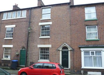 Thumbnail 3 bed terraced house to rent in King Street, Leek, Staffordshire