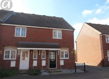 Thumbnail 2 bed end terrace house to rent in Miller Close, Clapham, Bedford
