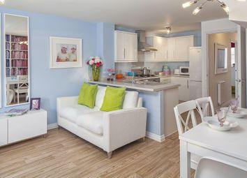 "Thumbnail 4 bedroom end terrace house for sale in ""Faversham"" at Fen Street, Brooklands, Milton Keynes"