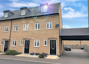 Thumbnail 3 bed end terrace house for sale in Barleyfield Way, Huntingdon, Cambridgeshire