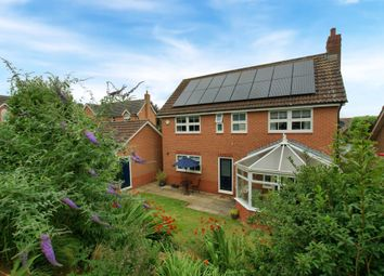 Thumbnail 4 bed detached house for sale in Elizabeth Way, Uppingham, Oakham