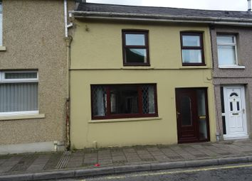 Thumbnail 3 bed terraced house for sale in Commercial Street, Ogmore Vale, Bridgend