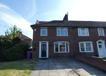 Thumbnail 3 bed semi-detached house for sale in Newenham Crescent, Knotty Ash, Liverpool