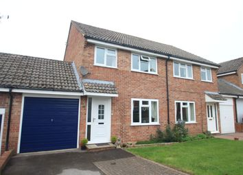 Thumbnail 3 bed semi-detached house for sale in Gladstone Close, Kintbury