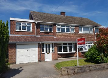Thumbnail 4 bed semi-detached house for sale in Frilsham Way, Allesley Park, Coventry
