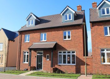 Thumbnail Detached house to rent in The Hunsden, Heyford Park, Bicester