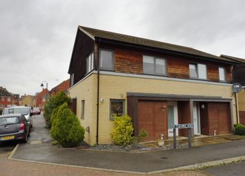 Thumbnail 2 bedroom semi-detached house for sale in Turnpike Road, Hampton Vale, Peterborough