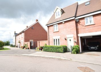 Thumbnail 5 bed town house for sale in Comfrey Road, Stotfold, Hitchin, Hertfordshire