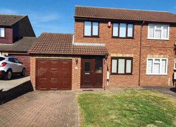 Thumbnail 2 bed semi-detached house to rent in Kent Avenue, Minster On Sea, Sheerness