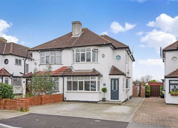 Thumbnail 3 bed semi-detached house for sale in Crest View Drive, Petts Wood, Kent