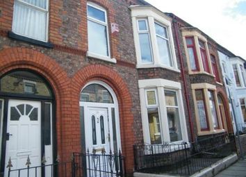 Thumbnail 3 bed terraced house for sale in August Road, Liverpool, Liverpool