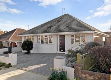 Thumbnail 4 bed detached bungalow for sale in Lustrells Vale, Saltdean, Brighton, East Sussex