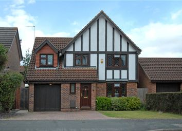 Thumbnail 4 bed detached house for sale in Peel Avenue, Frimley, Camberley