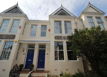 Thumbnail 4 bedroom terraced house to rent in Endsleigh Park Road, Plymouth