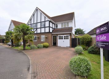 Thumbnail 3 bed detached house for sale in Orchard Close, Epsom