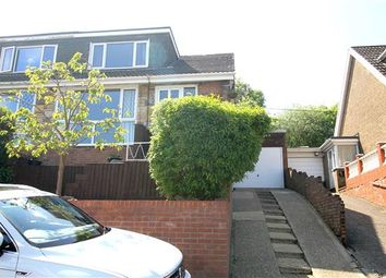 Thumbnail 3 bed semi-detached house for sale in Hillcrest Drive, Glynfach, Porth