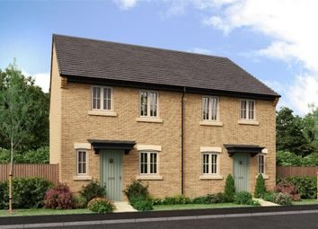 "Thumbnail 3 bed semi-detached house for sale in ""The Hawthorne"" at West Lane Cottages, Longframlington, Morpeth"