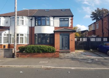 Thumbnail 4 bed semi-detached house to rent in Bournelea Avenue, Manchester