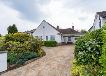 Thumbnail 4 bed detached bungalow for sale in Manor Road Extension, Oadby, Leicester