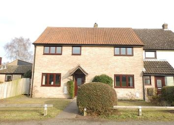 Thumbnail 4 bed semi-detached house for sale in Lark Rise, Martlesham Heath, Ipswich