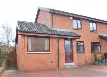 Thumbnail 3 bed semi-detached house for sale in Langton View, East Calder, West Lothian
