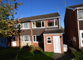 Thumbnail 3 bed semi-detached house for sale in The Dell, Kirkby-In-Ashfield, Nottingham