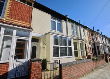 Thumbnail 3 bed terraced house for sale in Belgravia Road, Portsmouth