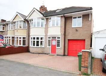Thumbnail 5 bed semi-detached house to rent in Kirkland Road, Leicester