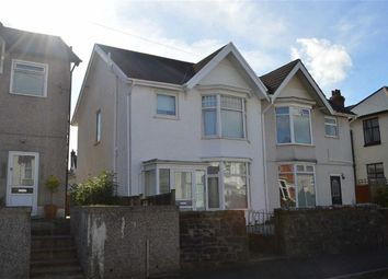 Thumbnail 3 bedroom semi-detached house for sale in Hazelmere Road, Swansea