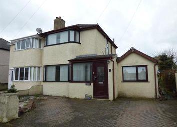 Thumbnail 2 bed semi-detached house for sale in Pen Y Ffridd Road, Bangor, Gwynedd