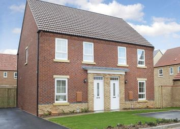 Thumbnail 3 bed semi-detached house for sale in Edmund Grove, Hucknall, Nottingham
