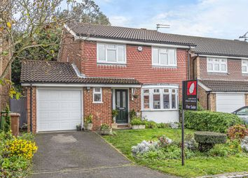 Thumbnail 4 bedroom detached house for sale in Weavering Close, Strood, Rochester