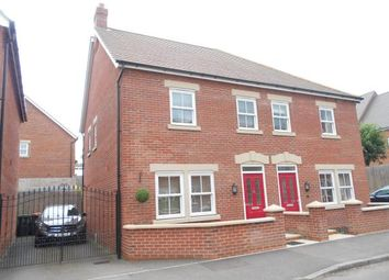Thumbnail 3 bed semi-detached house for sale in Crowsley Road, Kempston, Bedford, Bedfordshire