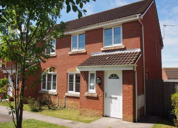 Thumbnail 3 bed semi-detached house for sale in Golwg Y Garn, Penllergaer, Swansea