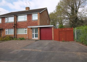 Thumbnail 3 bed semi-detached house for sale in Nash Close, Farnborough