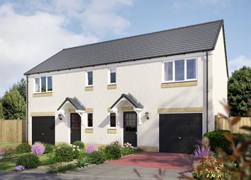 "Thumbnail 3 bedroom semi-detached house for sale in ""The Newton "" at East Muirlands Road, Arbroath"