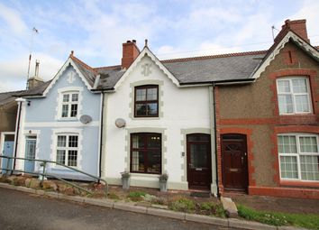 Thumbnail 2 bed terraced house for sale in Nantygwreiddyn, Brecon