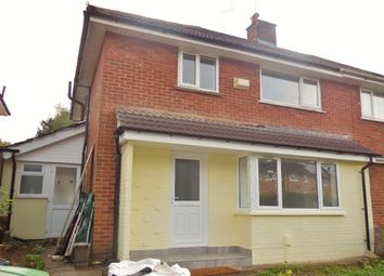 Thumbnail 3 bed semi-detached house to rent in Okehampton Avenue, Llanrumney, Cardiff